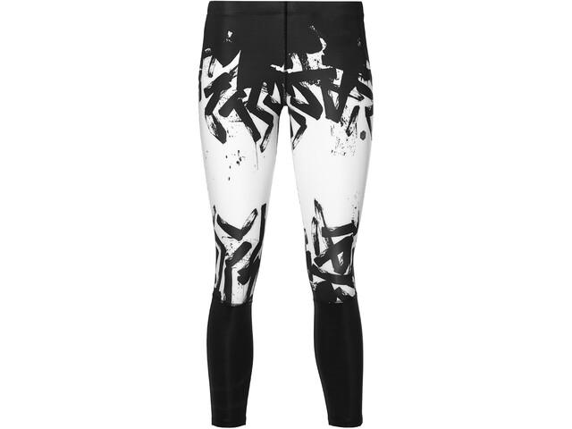 asics 7/8 Tights - Pantalon running Femme - blanc/noir